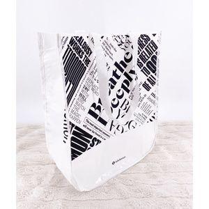 Lululemon sustainable tote bag~14x16
